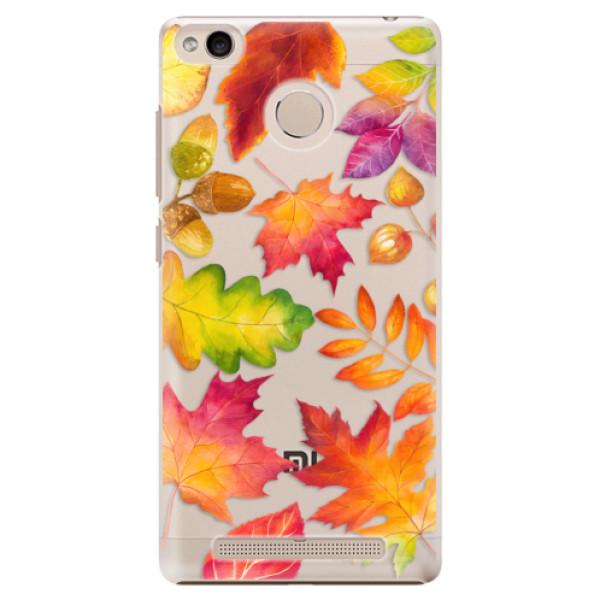 Plastové pouzdro iSaprio - Autumn Leaves 01 - Xiaomi Redmi 3S