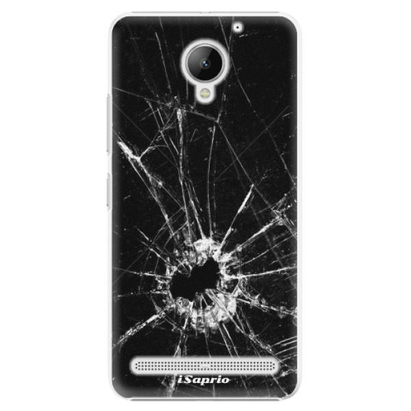 Plastové pouzdro iSaprio - Broken Glass 10 - Lenovo C2