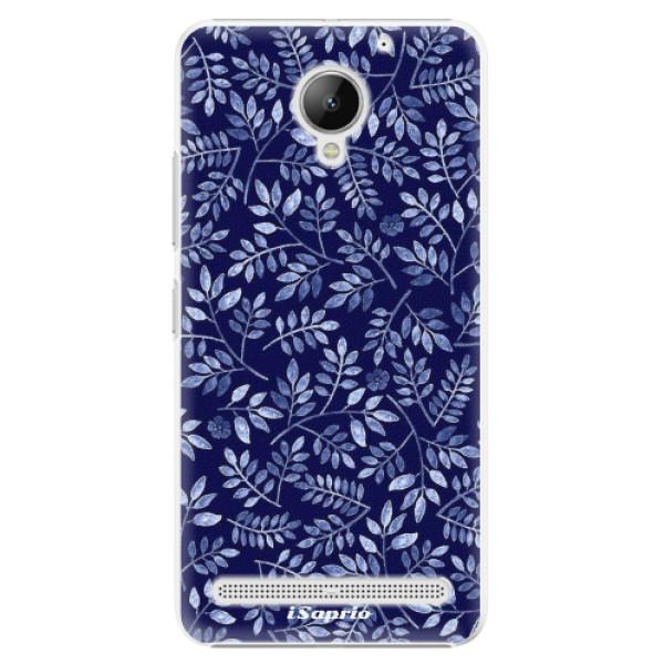 Plastové pouzdro iSaprio - Blue Leaves 05 - Lenovo C2