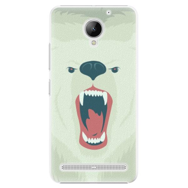 Plastové pouzdro iSaprio - Angry Bear - Lenovo C2