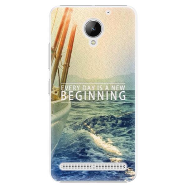 Plastové pouzdro iSaprio - Beginning - Lenovo C2