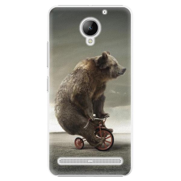 Plastové pouzdro iSaprio - Bear 01 - Lenovo C2