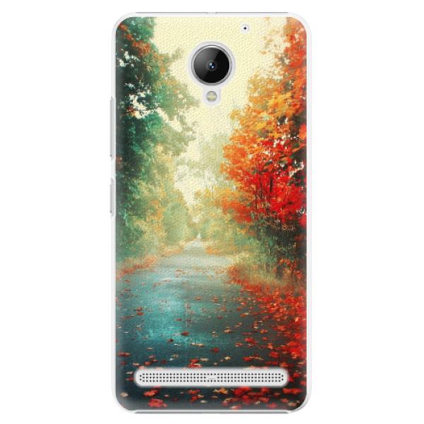 Plastové pouzdro iSaprio - Autumn 03 - Lenovo C2