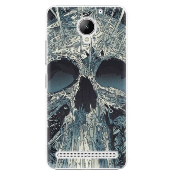 Plastové pouzdro iSaprio - Abstract Skull - Lenovo C2