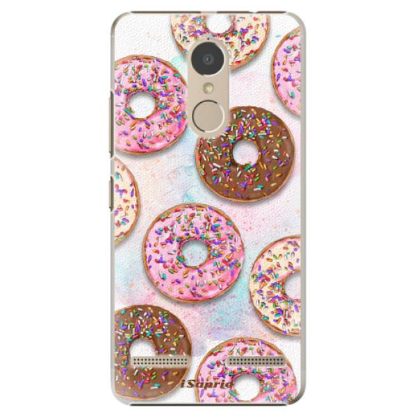 Plastové pouzdro iSaprio - Donuts 11 - Lenovo K6