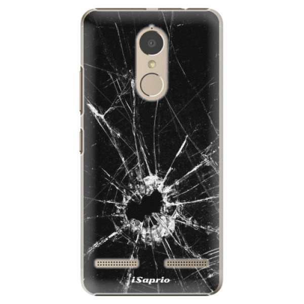 Plastové pouzdro iSaprio - Broken Glass 10 - Lenovo K6