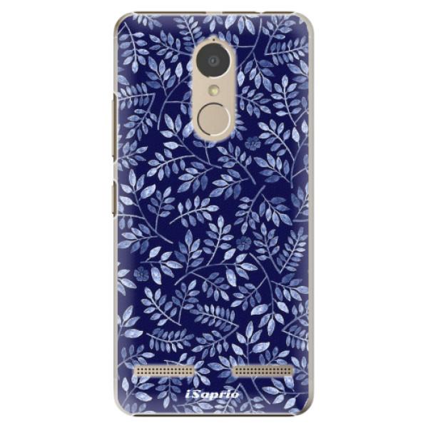 Plastové pouzdro iSaprio - Blue Leaves 05 - Lenovo K6