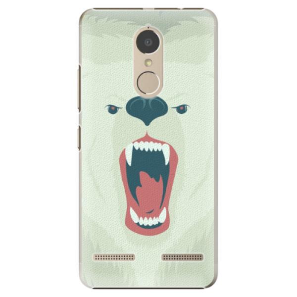 Plastové pouzdro iSaprio - Angry Bear - Lenovo K6