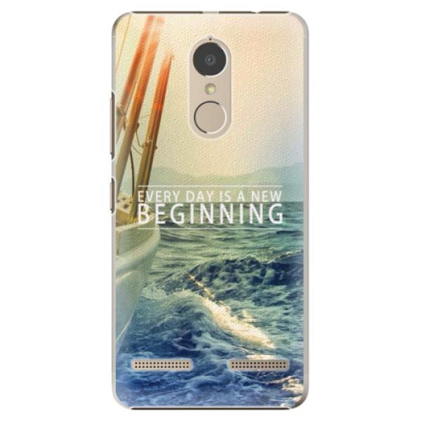 Plastové pouzdro iSaprio - Beginning - Lenovo K6