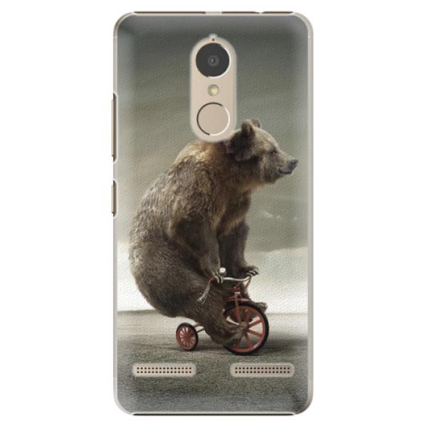 Plastové pouzdro iSaprio - Bear 01 - Lenovo K6