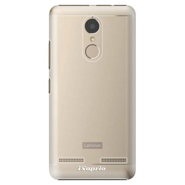Plastové pouzdro iSaprio - 4Pure - mléčný bez potisku - Lenovo K6