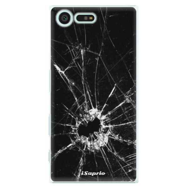 Plastové pouzdro iSaprio - Broken Glass 10 - Sony Xperia X Compact