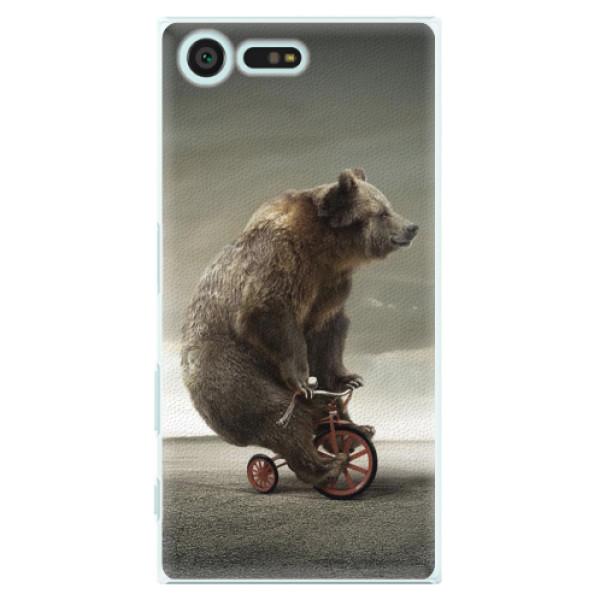 Plastové pouzdro iSaprio - Bear 01 - Sony Xperia X Compact