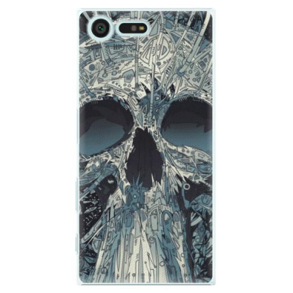 Plastové pouzdro iSaprio - Abstract Skull - Sony Xperia X Compact