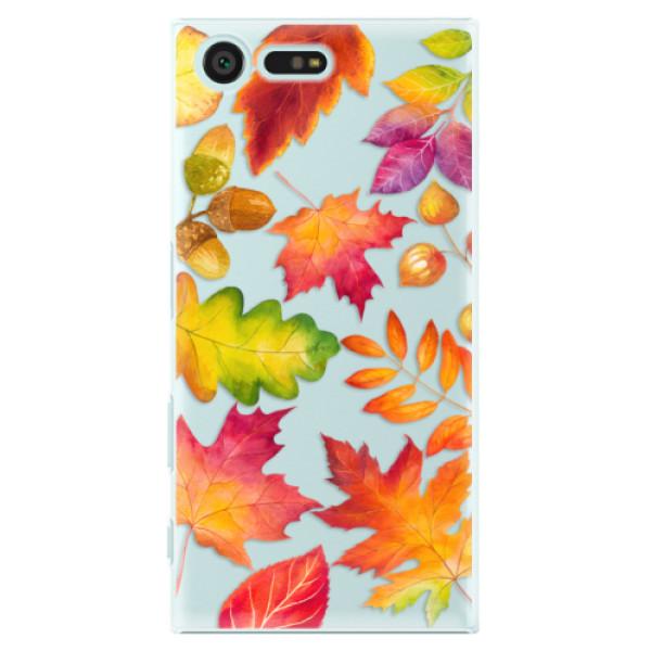 Plastové pouzdro iSaprio - Autumn Leaves 01 - Sony Xperia X Compact