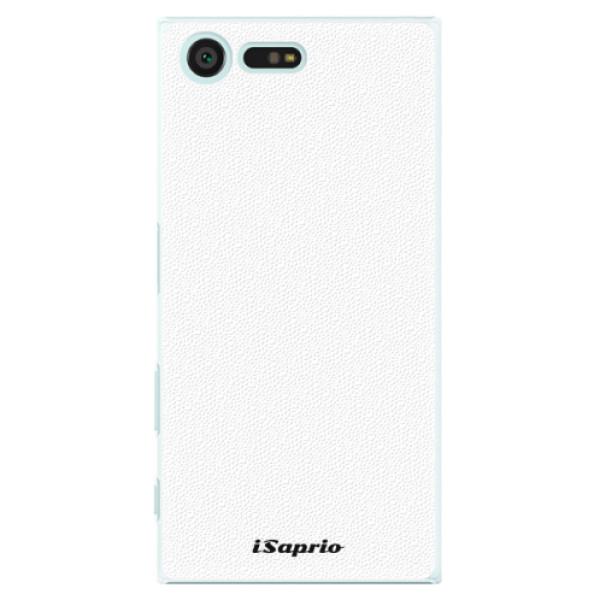 Plastové pouzdro iSaprio - 4Pure - bílý - Sony Xperia X Compact