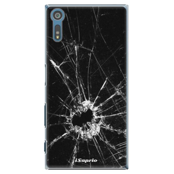 Plastové pouzdro iSaprio - Broken Glass 10 - Sony Xperia XZ