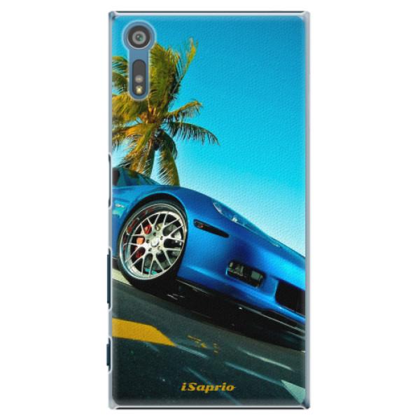 Plastové pouzdro iSaprio - Car 10 - Sony Xperia XZ