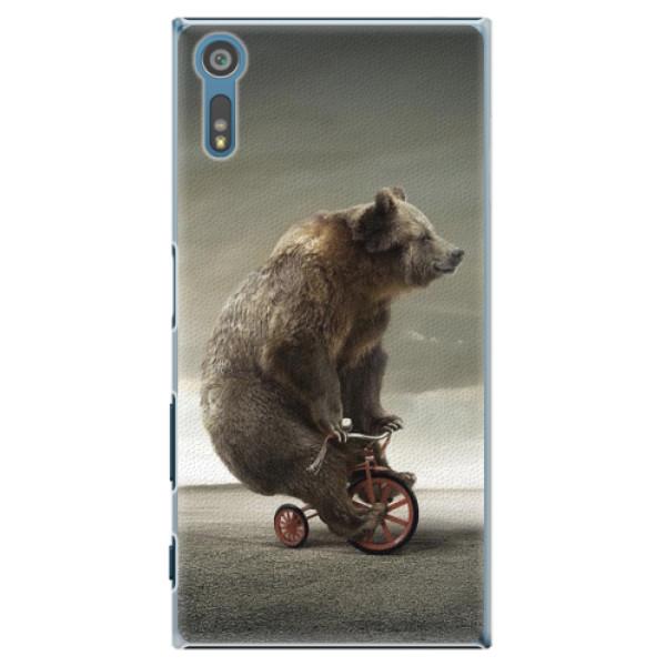 Plastové pouzdro iSaprio - Bear 01 - Sony Xperia XZ