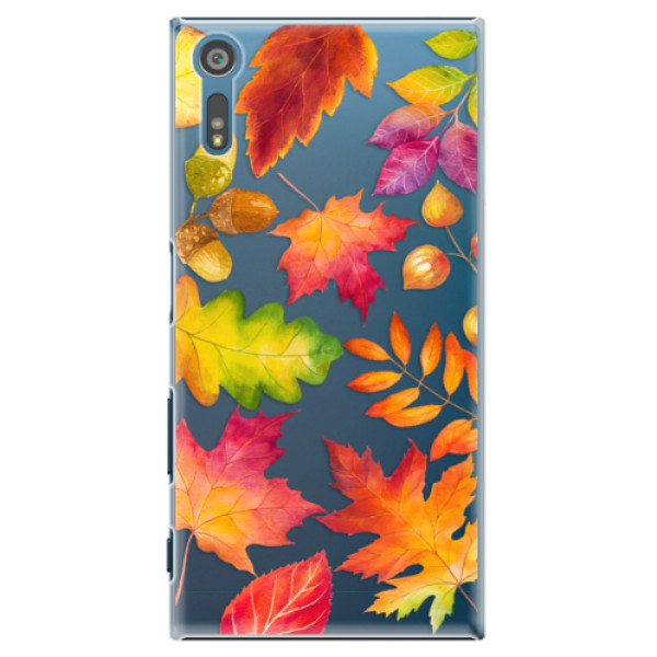 Plastové pouzdro iSaprio - Autumn Leaves 01 - Sony Xperia XZ