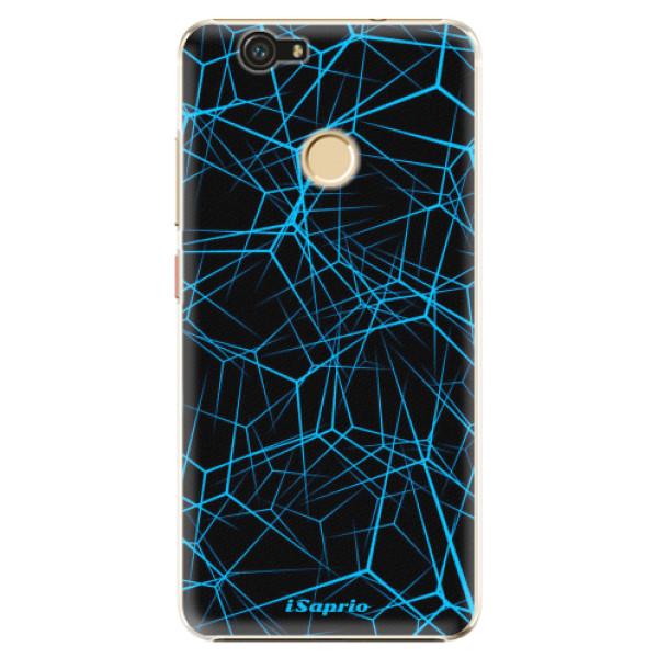 Plastové pouzdro iSaprio - Abstract Outlines 12 - Huawei Nova
