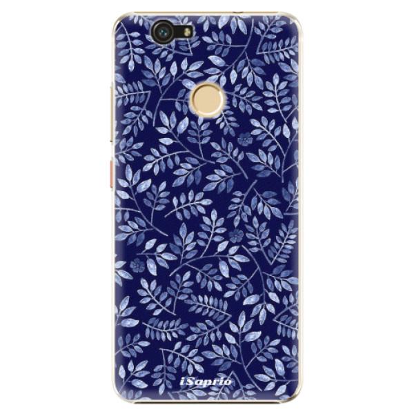 Plastové pouzdro iSaprio - Blue Leaves 05 - Huawei Nova
