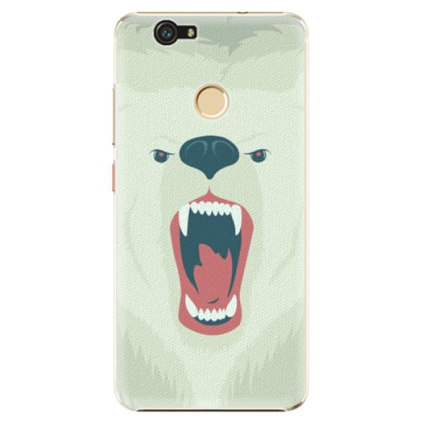 Plastové pouzdro iSaprio - Angry Bear - Huawei Nova