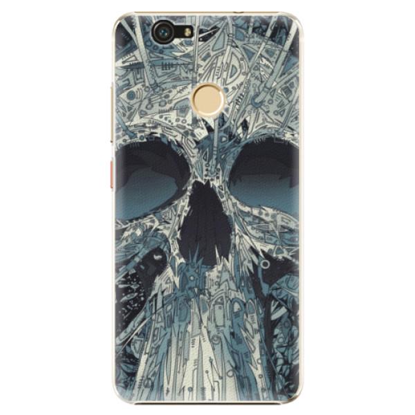 Plastové pouzdro iSaprio - Abstract Skull - Huawei Nova