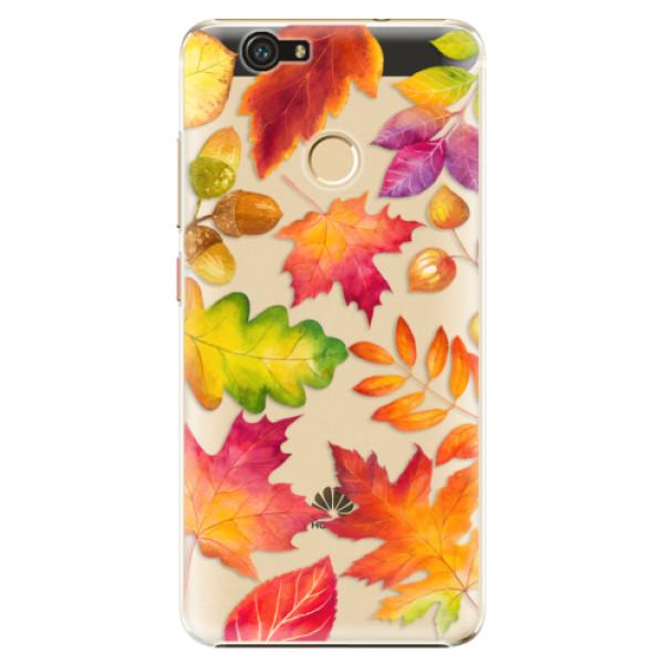 Plastové pouzdro iSaprio - Autumn Leaves 01 - Huawei Nova