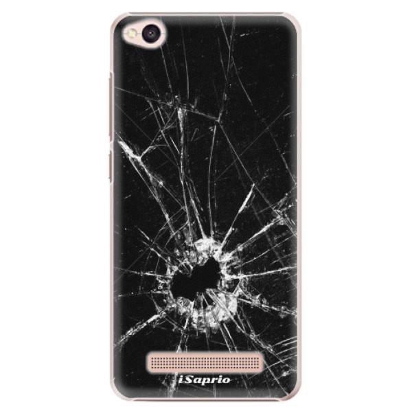Plastové pouzdro iSaprio - Broken Glass 10 - Xiaomi Redmi 4A