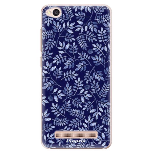 Plastové pouzdro iSaprio - Blue Leaves 05 - Xiaomi Redmi 4A