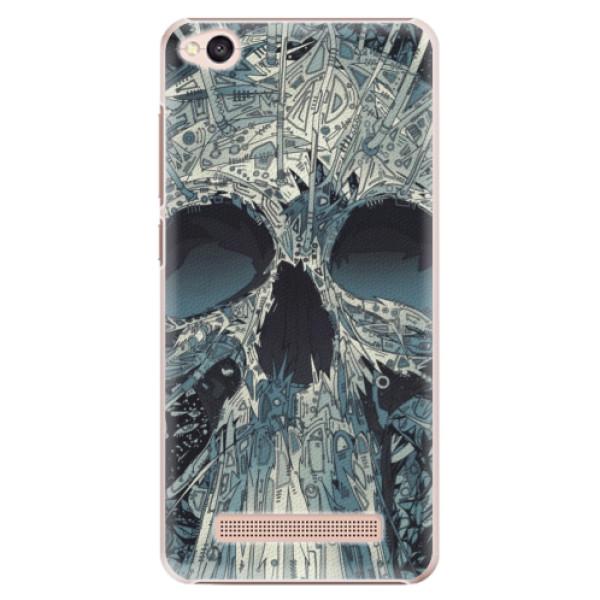 Plastové pouzdro iSaprio - Abstract Skull - Xiaomi Redmi 4A