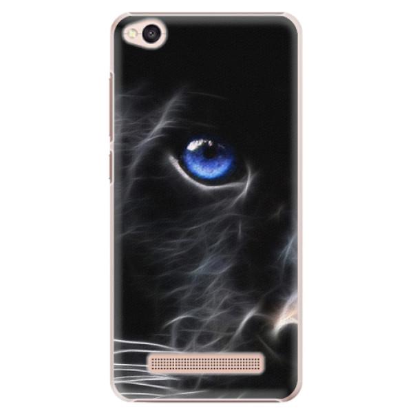 Plastové pouzdro iSaprio - Black Puma - Xiaomi Redmi 4A
