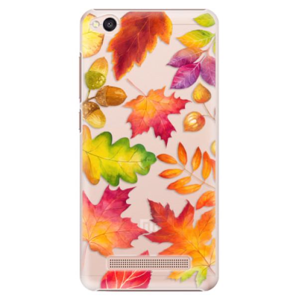 Plastové pouzdro iSaprio - Autumn Leaves 01 - Xiaomi Redmi 4A