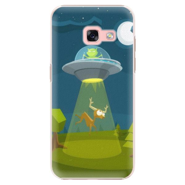 Plastové pouzdro iSaprio - Alien 01 - Samsung Galaxy A3 2017