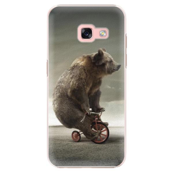 Plastové pouzdro iSaprio - Bear 01 - Samsung Galaxy A3 2017