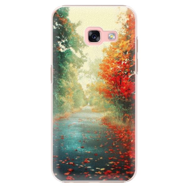 Plastové pouzdro iSaprio - Autumn 03 - Samsung Galaxy A3 2017