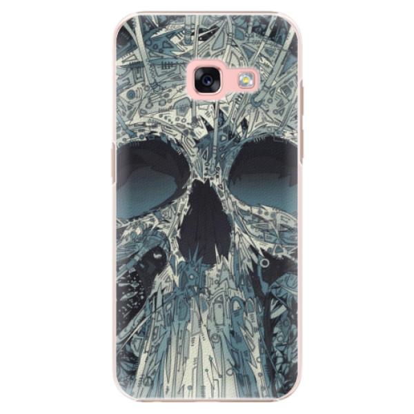Plastové pouzdro iSaprio - Abstract Skull - Samsung Galaxy A3 2017