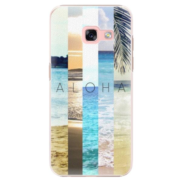 Plastové pouzdro iSaprio - Aloha 02 - Samsung Galaxy A3 2017