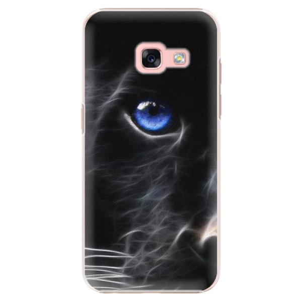 Plastové pouzdro iSaprio - Black Puma - Samsung Galaxy A3 2017