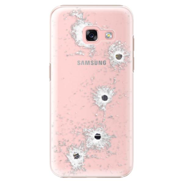 Plastové pouzdro iSaprio - Gunshots - Samsung Galaxy A3 2017