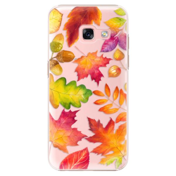 Plastové pouzdro iSaprio - Autumn Leaves 01 - Samsung Galaxy A3 2017