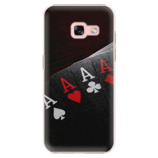 Plastové pouzdro iSaprio - Poker - Samsung Galaxy A3 2017