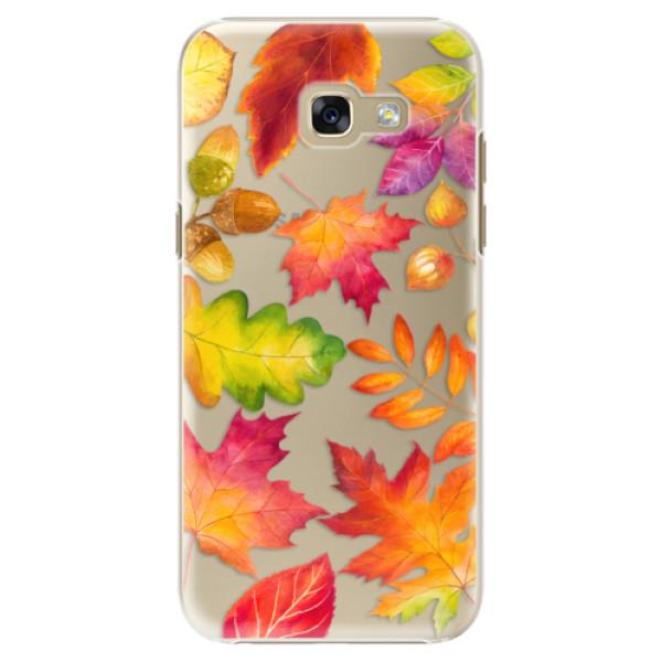 Plastové pouzdro iSaprio - Autumn Leaves 01 - Samsung Galaxy A5 2017