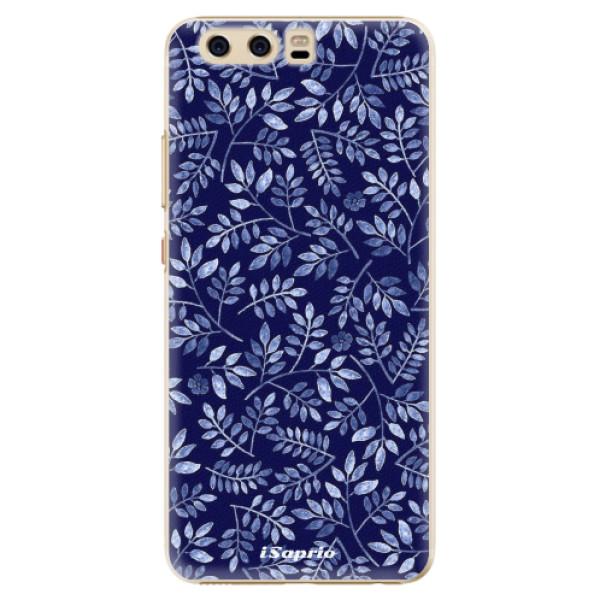 Plastové pouzdro iSaprio - Blue Leaves 05 - Huawei P10