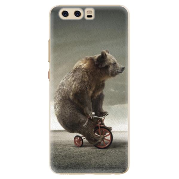 Plastové pouzdro iSaprio - Bear 01 - Huawei P10