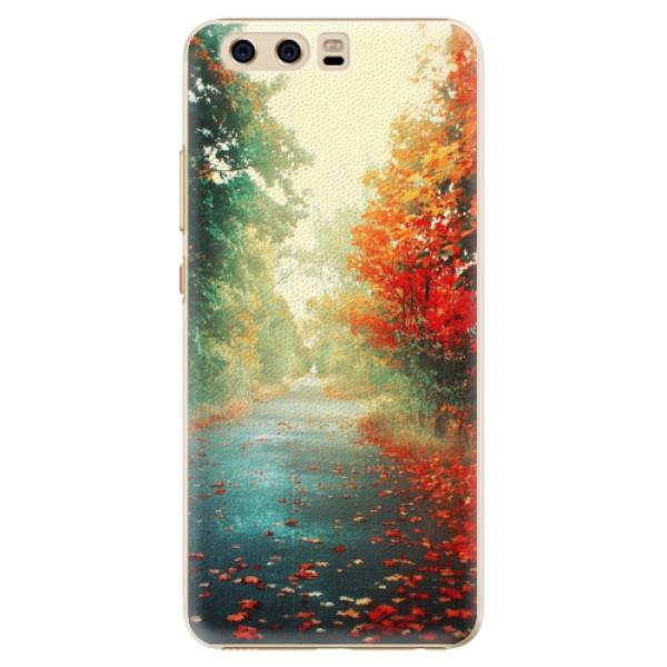 Plastové pouzdro iSaprio - Autumn 03 - Huawei P10