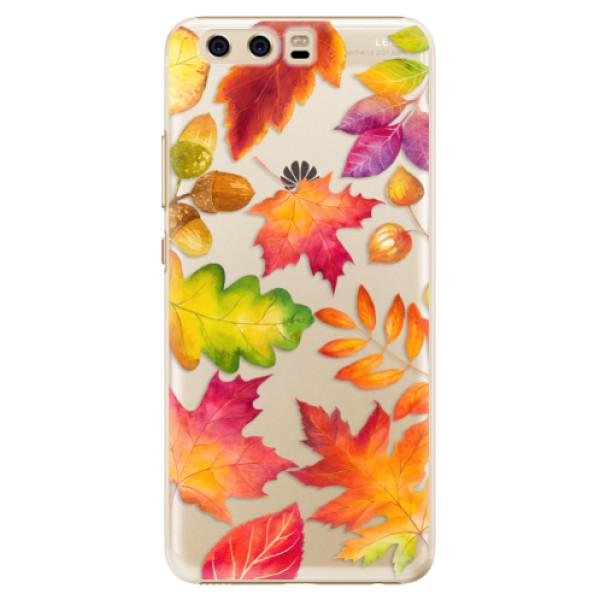Plastové pouzdro iSaprio - Autumn Leaves 01 - Huawei P10