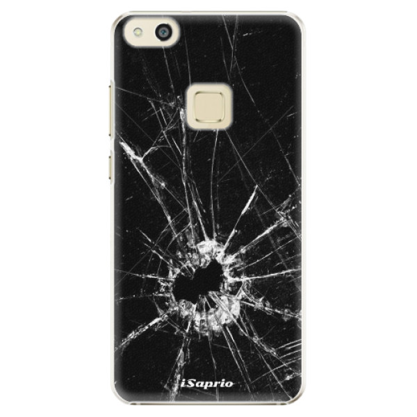 Plastové pouzdro iSaprio - Broken Glass 10 - Huawei P10 Lite