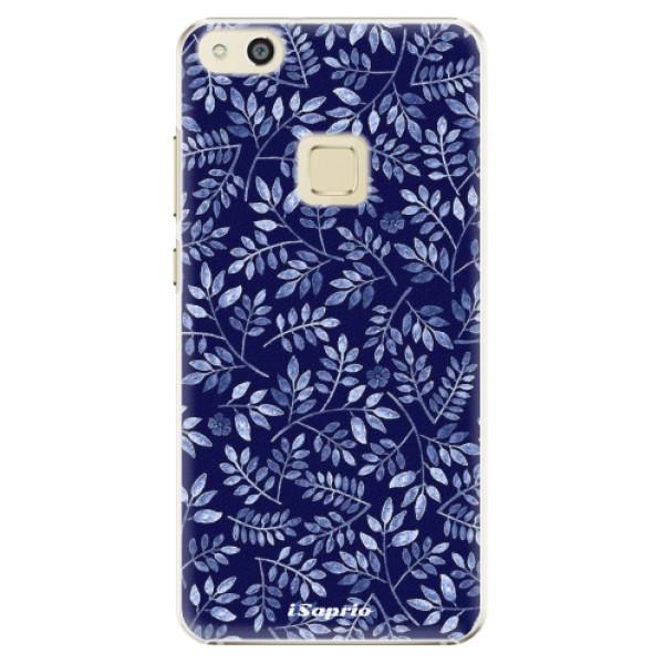 Plastové pouzdro iSaprio - Blue Leaves 05 - Huawei P10 Lite